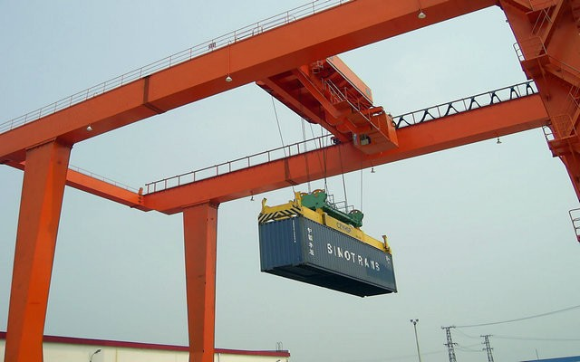 China Port Used Container Gantry Crane Cost/Price