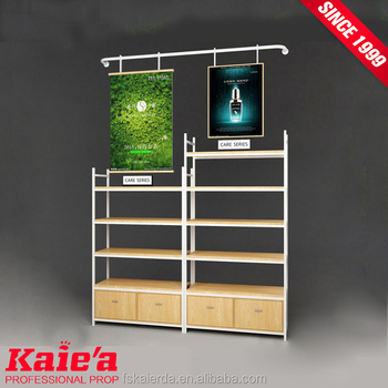 hot sale in usa make up display racks for retail store