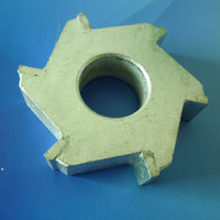 6-point scarifying asphalt milling cutter