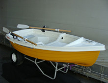 Small Dinghy Fiberglass Fishing Boat 2.7m