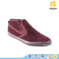 Simple design slip on casual sport sneaker 2016 men safety jogger shoes