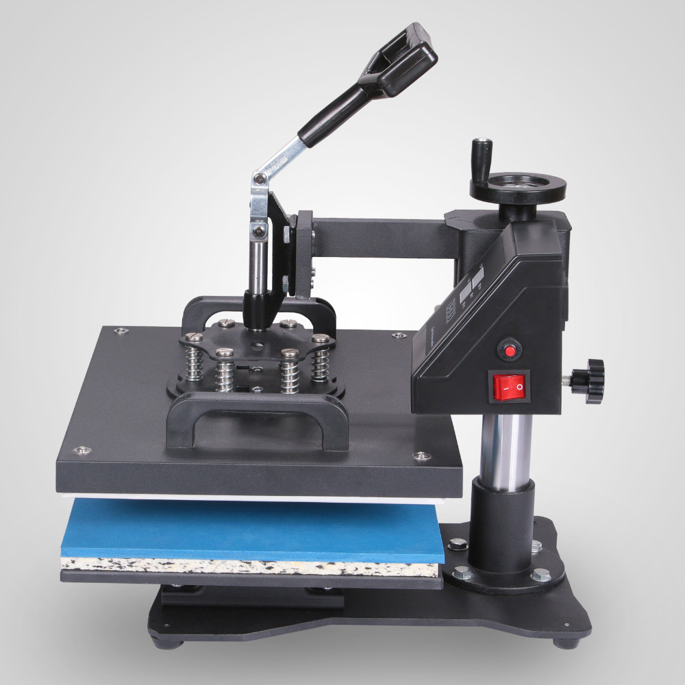 "Digital Heat Press Machine 6 in 1 Multifunctional Transfer Sublimation for T-Shirt Hat Cap 15""<strong>X12</strong>"" (38X30cm)"