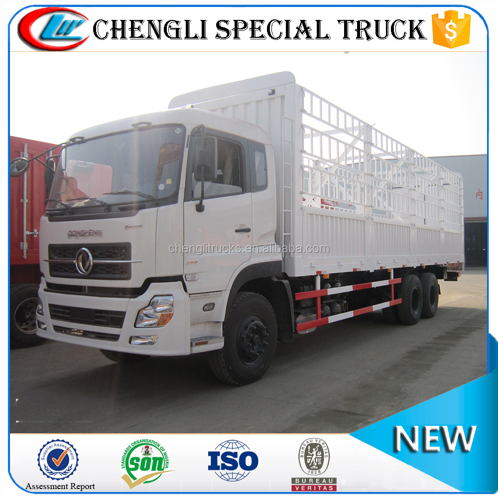 Hot sell dongfeng 6x4 20ton 25ton 30ton Warehouse Gate Cargo Stake Truck