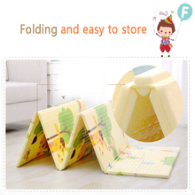 factory Outlet high quality Foldable waterproof damping XPE FOAM baby children crawl foldable play mat