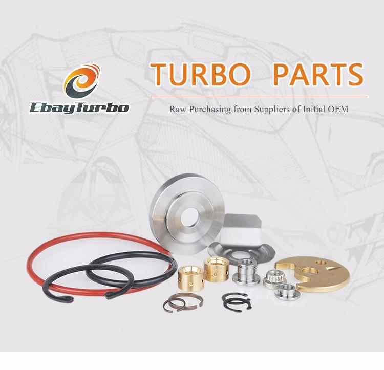 Precision Turbo Compressor Wheel: Turbo Compressor Wheel Of Td05-16g Precision Machining