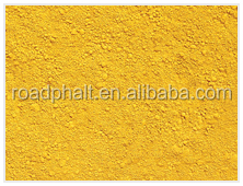 Iron oxide pigment yellow powder For modified bitumen road