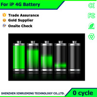 Cheap china mobile phone battery for iPhone 4G battery