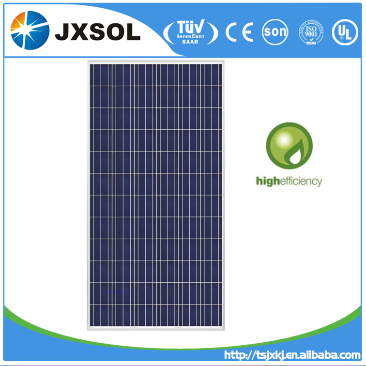 Poly crystalline Silicon High Power Efficiency Solar Panels 300 Watt with TUV IEC certificate