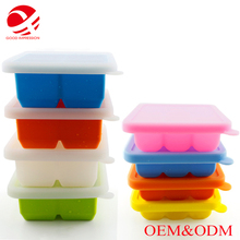 BPA FREE factory custom silicone molds for ice cream