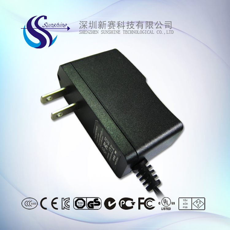 US Plug 12v 1a ac dc honor electronic switching adapter