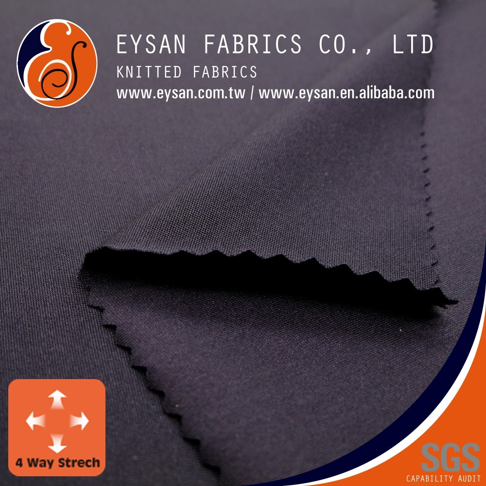 EYSAN For Sportswear Woven Knit Spandex Nylon 4 Way Stretch Fabric