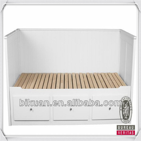 High-end creative new arrival teak wood beds models
