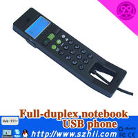 Hot VOIP Product Model 111+ with LCD noise cancelling USB VOIP phone for Skype