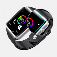 hot selling manufacturer bluetooth A1 android phone smart watch with sim card
