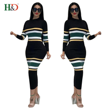 Free Shipping H & D Alibaba Evening Wholesale Good Quality Cheap Woolen Designs Sweater <strong>Dress</strong> For Ladies