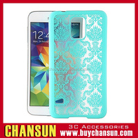 cell phone hollow flower hard case for samsung galaxy note 4