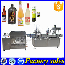 100% tested syrup filling production line