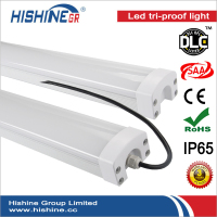 Durable body Led High bay vapor tight light 60W 70W voltage 100-277