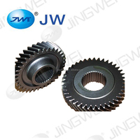 High precision transmission auto parts cylindrical helical gear forging 20MnCr5 gear spare parts car