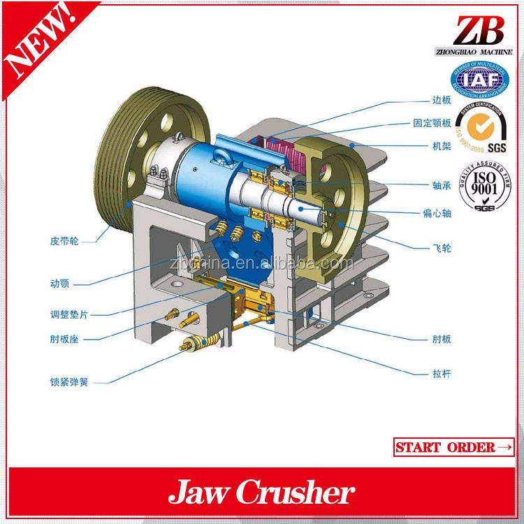 newest high quality jaw crusher main shaft for jaw crusher from factory directly