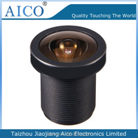 taizhou cn AICO new products non distortion camera hd fixed f1.8 1/1.9 inch 16 mm m12 lens for top 10 cctv cameras