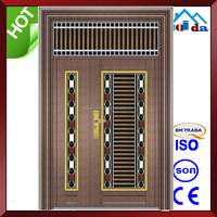 QD-SS057 Entrance Anti- theft Villa Main Stainless Steel Safety Door