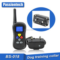 BS-018 New High Quality Dog Electronic Shock Training Collar, barking collar for dogs training