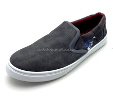 2016 alibaba china wholesale shoes slip on denim loafer shoes for men