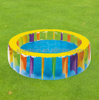 Good Quality inflatable Giant Rainbow Pool