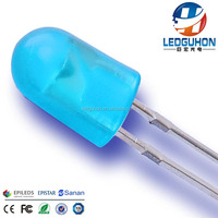 GH Small Power F5 BLUE Diffused Oval Diode LED