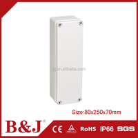 B&J Most Popular 80x250x70mm Waterproof Plastic Electrical Junction Box Cover