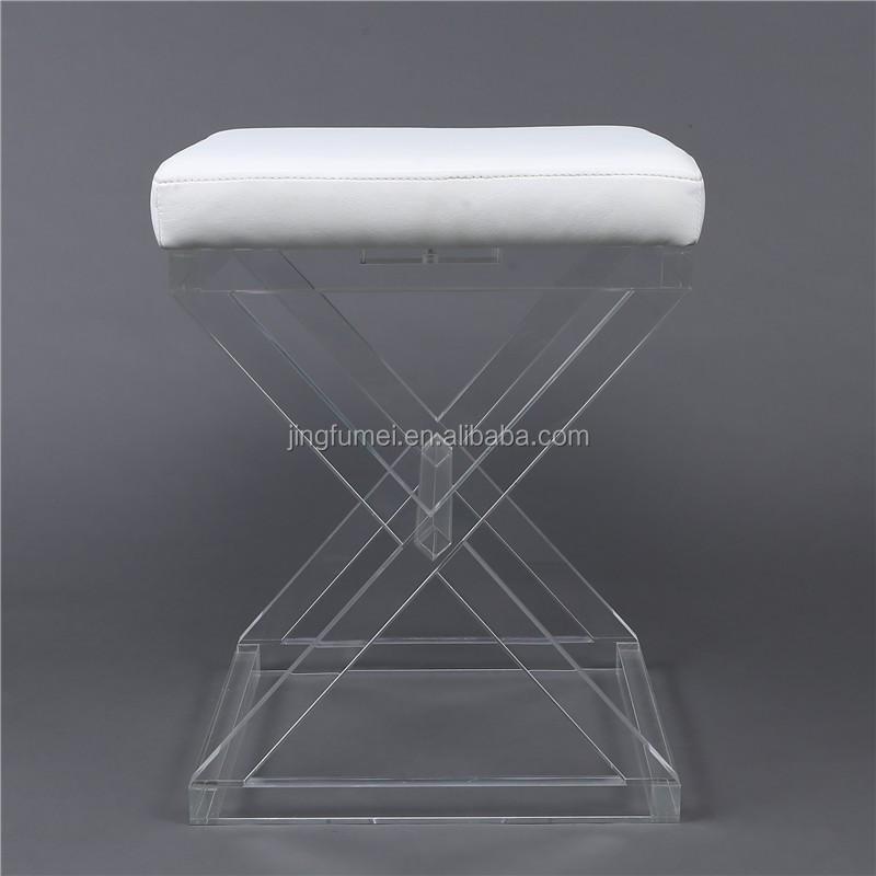 acryl hocker dressing fu st tze lucenten tisch klavier mit. Black Bedroom Furniture Sets. Home Design Ideas