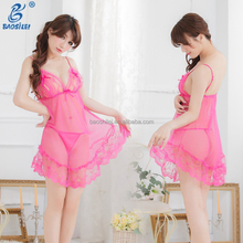 Country Shop Hot Sexy Mutilcolor Open Bra Sexy Pregnant Lingerie Babydoll