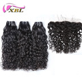 xblhair wholesale price new hair style water wave with lace frontal