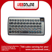 Hot Sale!!Cheap Multi-Media Bluetooth Keyboard for iPod iPad iPhone Laptop Sony Smart Phone Free Shipping