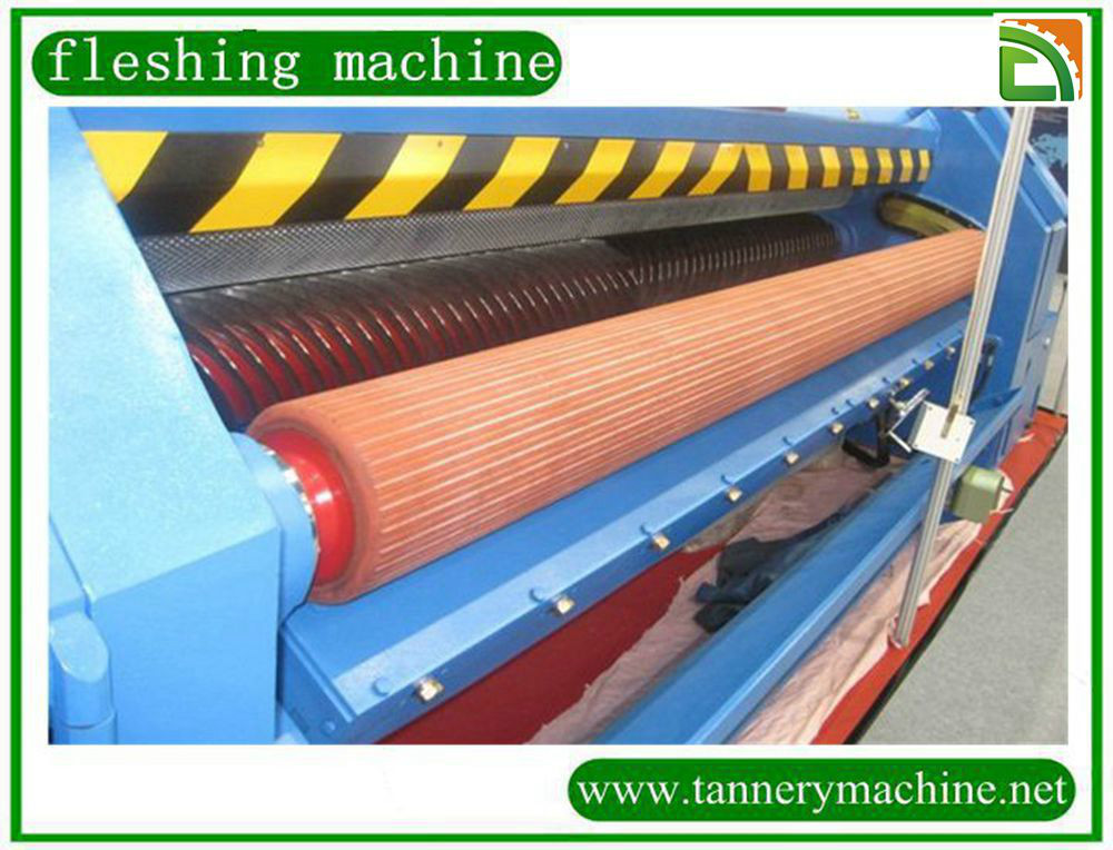 used fleshing machine for cowhides