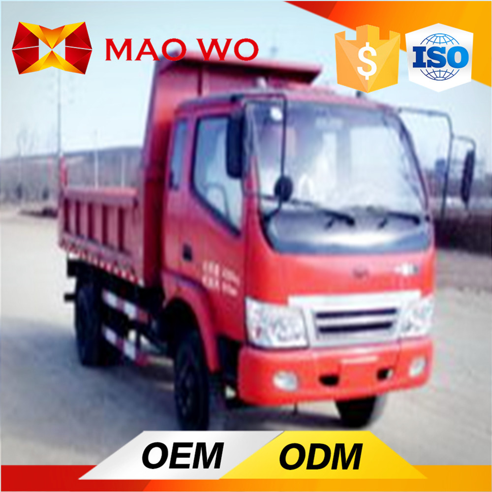4*2 tipper truck 2 ton or used mini dump trucks for sales