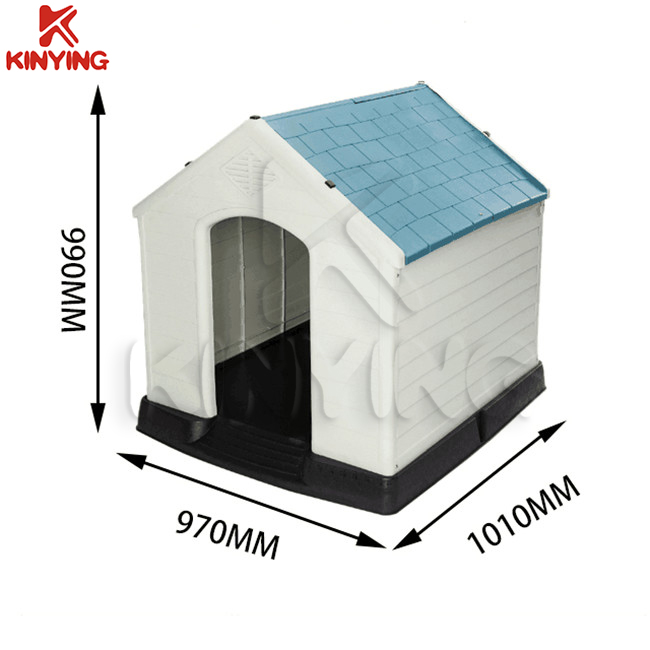Kinying Brand Best design outdoor garden dog house good quality plastic pet house for dogs