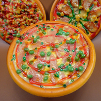 PVC Food 3D Model Fake Pizza Models Display Simulated Food Model Manufacturer