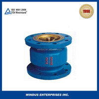 China ductile iron wafer vertical silent check valve