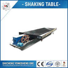 Small Scale Gold Mining Gravity Shaking Table