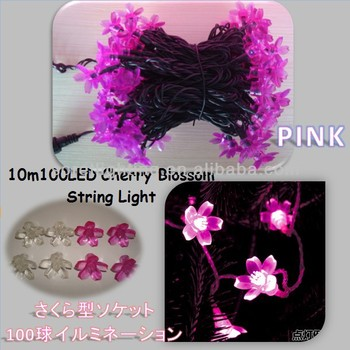 Cherry Blossom/Sakura Pink Tree Light/LED Light Chain