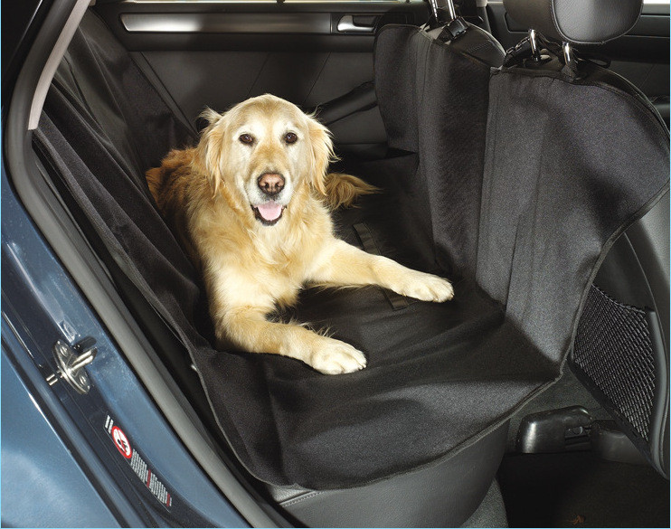 SUNCLOSE China manufacture back seat protector , waterproof pet car seat cover , for dog cat