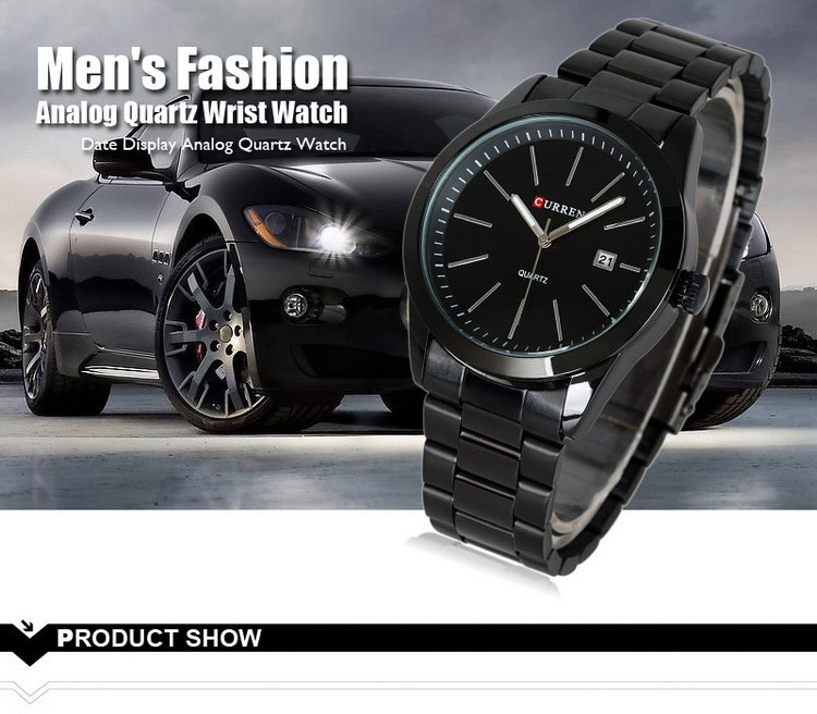 Good quality cheapest men's mechanical stainless steel watch