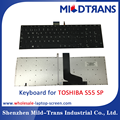 Replacement laptop Internal keyboard for Toshiba S55 SP language layout