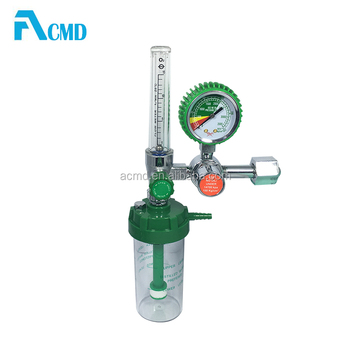 Medical Cheap Oxygen Regulator With Humidifier For Patient Use