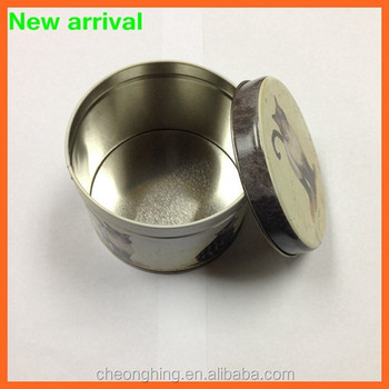 high quality round tin cans