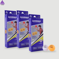 2016 lenwave best selling 2 star 40mm Olympic professional training table tennis ping pong ball