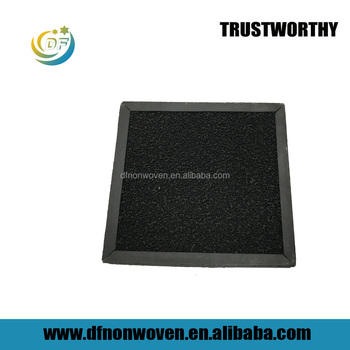 Honeycomb carbon sponge and photocatalytic filter