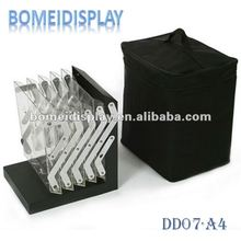 folding acrylic display stand A4
